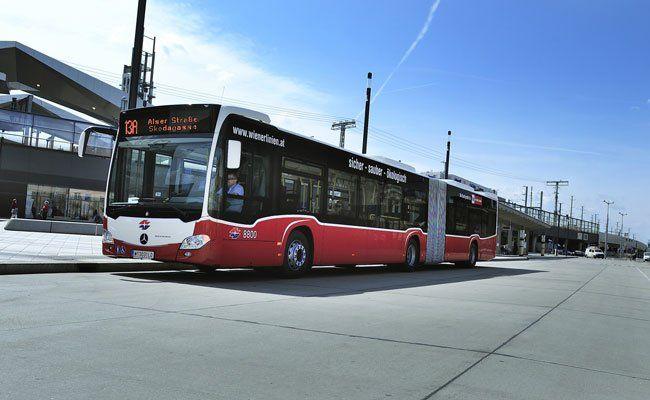 Besonders die Wiener Busse legen täglich große Strecken zurück.