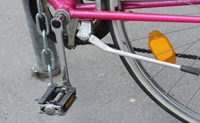 Es stellte sich heraus, dass der Mann über 30 Fahrräder gestohlen hatte.