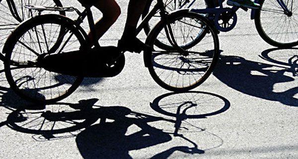 Auf Fahrräder hatten es die beiden Diebe anscheinend abgesehen