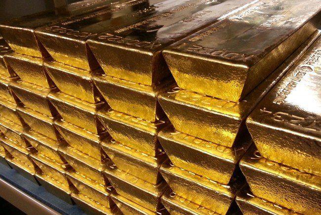 Rund 480 Millionen Euro ist der Wert der nach Wien geholten Goldbarren.