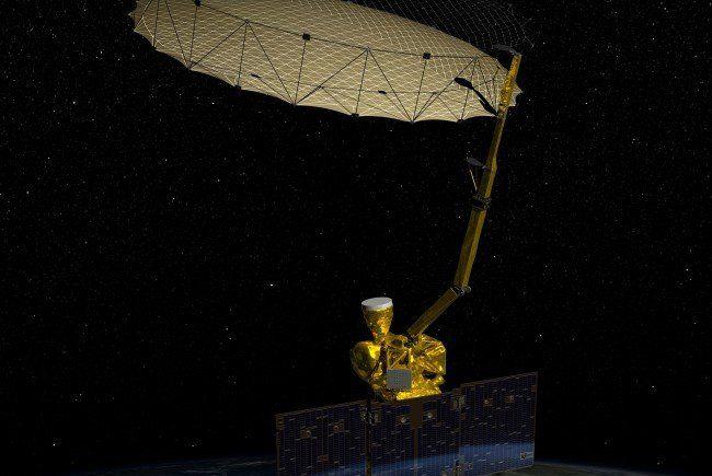 Unglaubliche Mengen an Daten werden täglich von einem Satelliten empfangen.