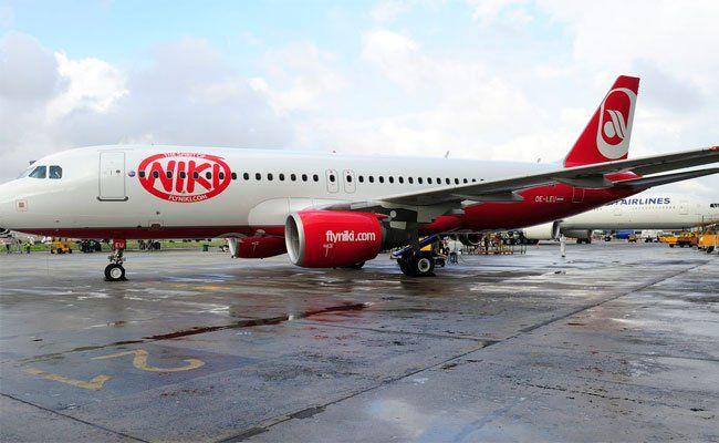 Der Niki-Flieger musste wieder umdrehen.
