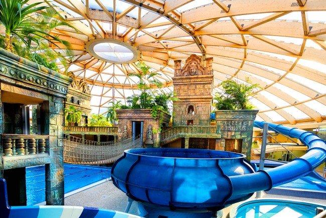 Spaß im Aquaworld Resort Budapest