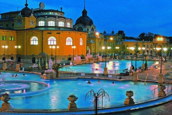 Budapest, die Bäderhauptstadt der Welt