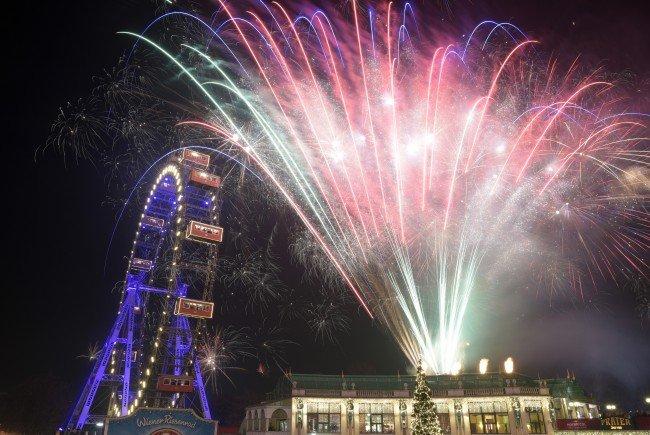 So wurde am Wiener Silvesterpfad 2015 gefeiert.