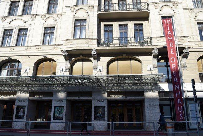 Das Theater an der Wien.