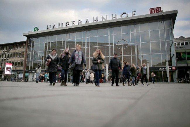 Der Kölner Hauptbahnhof: Hier fanden die Attacken statt.