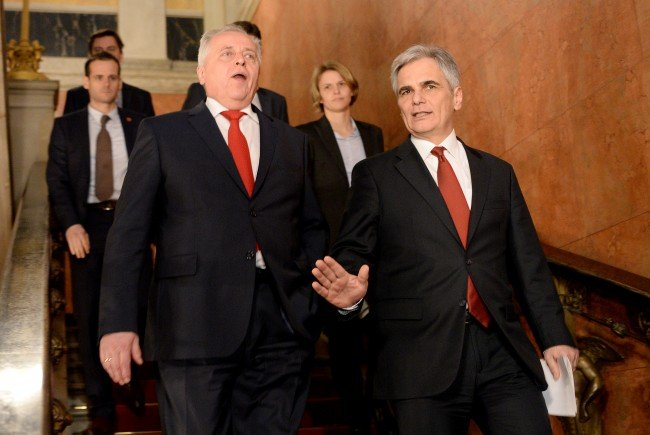 Rudolf Hundstorfer wird für die SPÖ ins Rennen gehen.