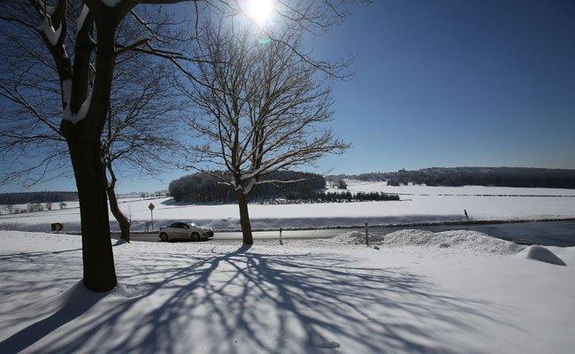 Am Wochenende gibt es in ganz Österreich viel Sonnenschein aber auch Schnee.
