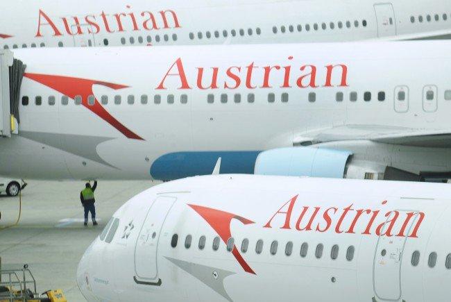 Die AUA-Zahlen beim Passagiertransport waren 2015 rückläufig.