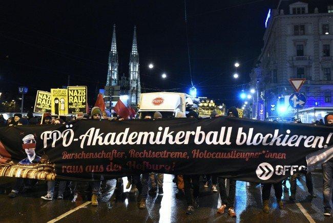 Die OGR-Demonstration gegen den Akademikerball 2016 soll größer und länger ausfallen.
