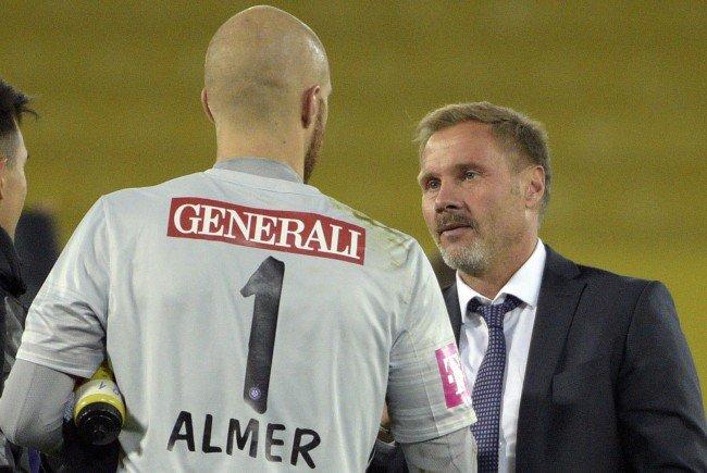 Wiener Austria reist ohne ÖFB- Teamtormann Almer zum Trainingslager