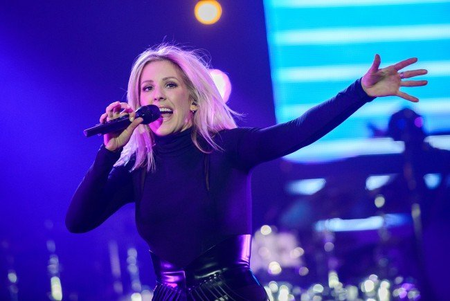 Ellie Goulding tourt durch Europa.