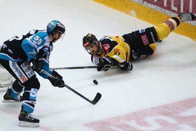 Die Vienna Capitals konnten das Spiel gegen Linz für sich entscheiden.