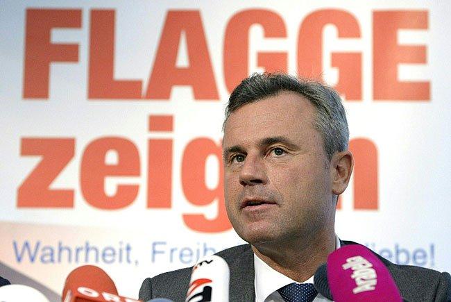 FPÖ-Präsidentschaftskandidat Norbert Hofer ist FPÖ-Präsidentschaftskandidat