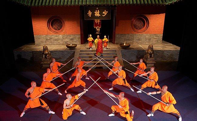 Erleben Sie die Show der Shaolin-Mönche zum Valentinstag