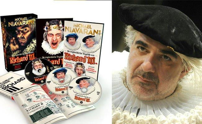 """Michael Niavaranis """"Die unglaubliche Tragödie von Richard III."""" gibt es nun auf DVD"""