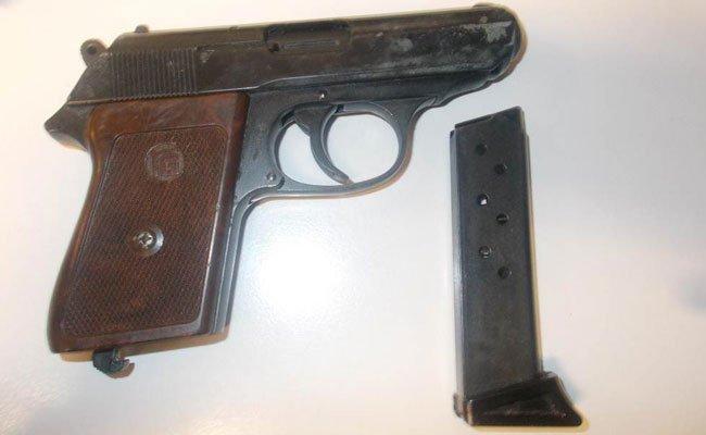 Diese Pistole wurde sichergestellt