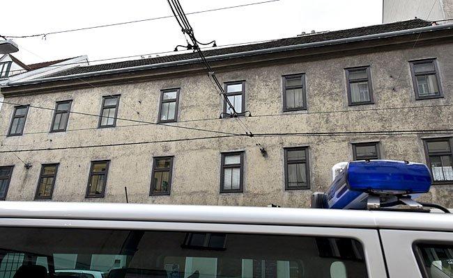 Das Wohnhaus, in dem man die beiden Leichen fand.