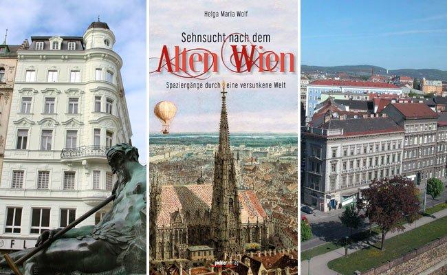 Das Buch lädt zu einem Spaziergang durch Alt-Wien ein.