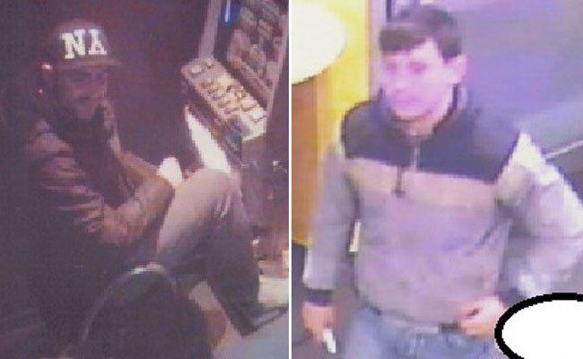 Bereits seit Dezember 2014 sucht die Polizei nach diesen beiden Männern.