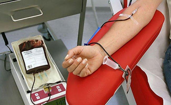 Helfen Sie dabei, den Vorrat an Blutkonserven zu halten.