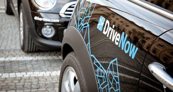 """Bereits 50.000 Wiener nutzen den Carsharing-Dienst """"DriveNow""""."""