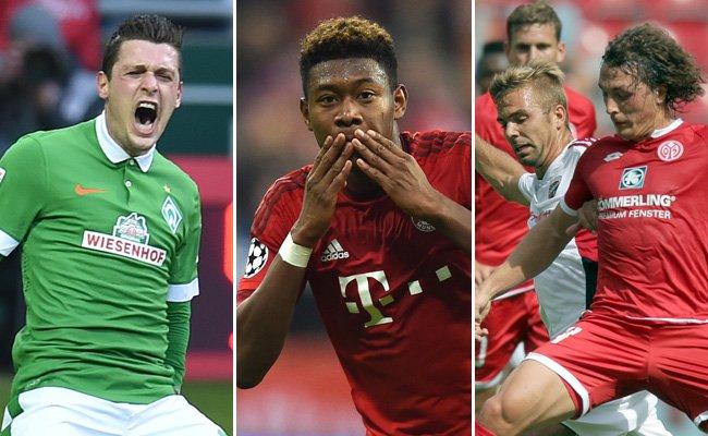 20 Legionäre halten die rot-weiß-rote Fahne in der deutschen Bundesliga hoch.