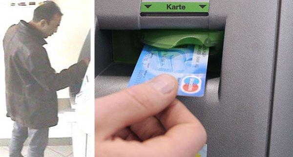 Dieser Mann hat mit einer gestohlenen Bankomatkarte Geld behoben.