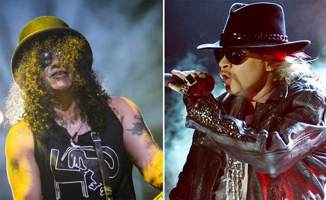 Slash und Axl Rose haben sich offenbar wieder zusammengerauft.
