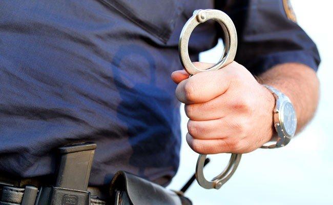 Der Ladendieb wurde festgenommen.