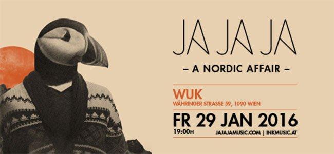 Das Jajaja lädt wieder ins WUK zum nordischen Abfeiern.