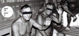 Die Sauna sagt zum Abschied ganz laut Servus