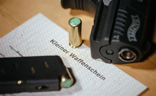 Anstieg der Schusswaffen in Österreich.