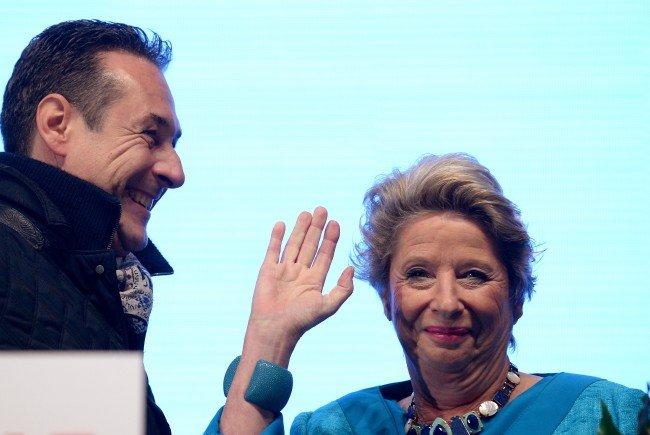 Ursula Stenzel dürfte die blaue Kandidatin für die Bundespräsidentenwahl sein.