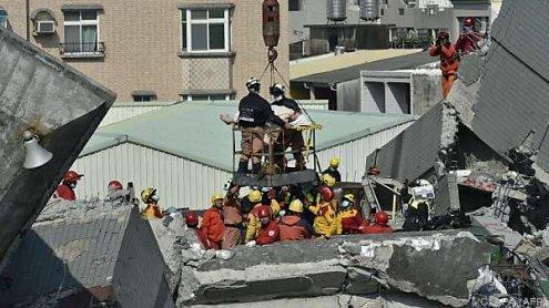 Erdbebenunglück in Taiwan: Mindestens 26 Menschen getötet