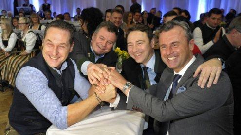 """""""Der politische Rechtsruck in Europa ist die Lösung"""", sagt FPÖ"""