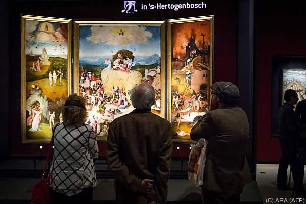 """Das berühmte Triptychon """"Der Heuwagen"""" ist u.a. zu sehen"""