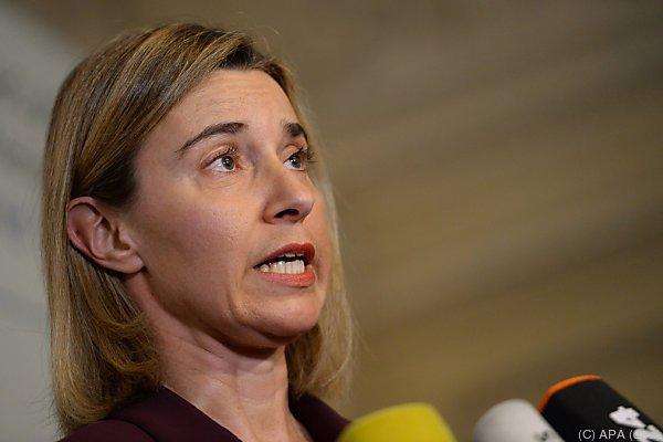 Mogherini auf der 52. Münchner Sicherheitskonferenz