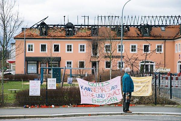In Bautzen brannte eine Flüchtlingsunterkunft