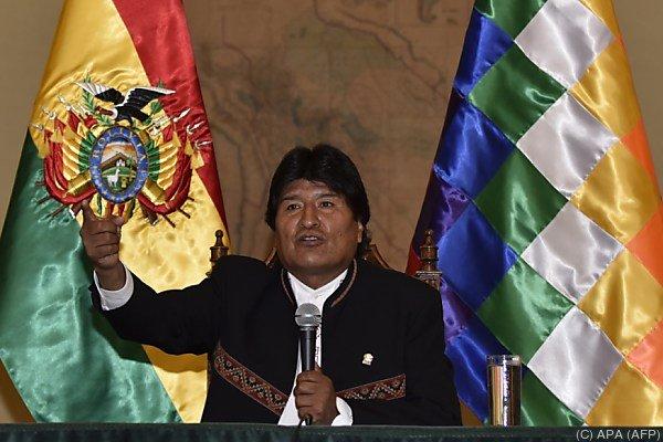 Die Amtszeit von Morales endet 2020