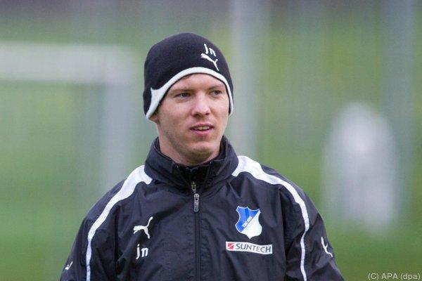Julian Nagelsmann wird der jüngste Bundesliga-Coach