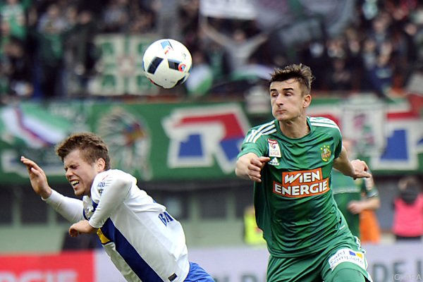 Matej Jelic war Rapids Matchwinner