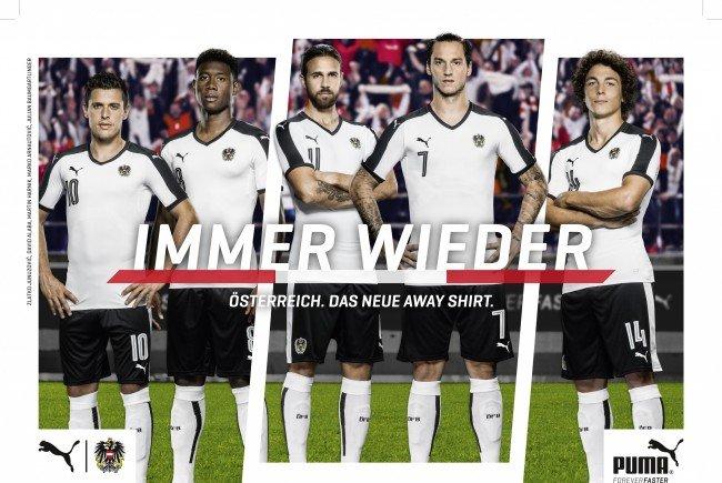 """Schaut gut aus, die neue """"Panier"""" der ÖFB-Kicker."""