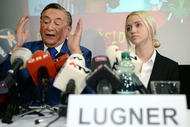 Richard Lugner ärgert sich über den ORF.