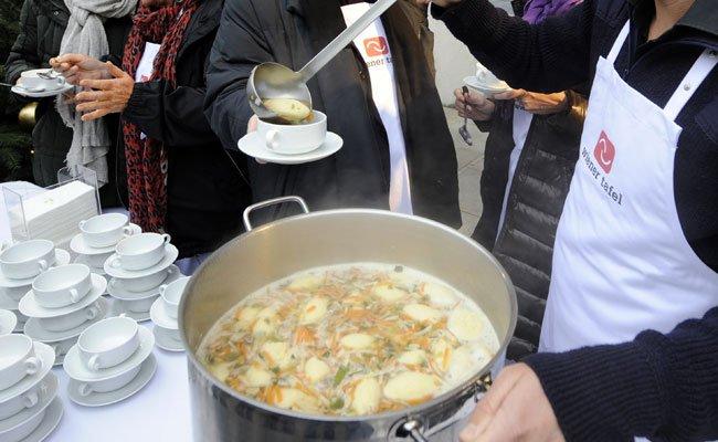 """""""Wiener Tafel"""" half 2015 mit 472.505 Kilogramm Lebensmitteln"""