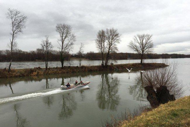 Suche nach vermisstem Kapitän in der Donau vorerst erfolglos