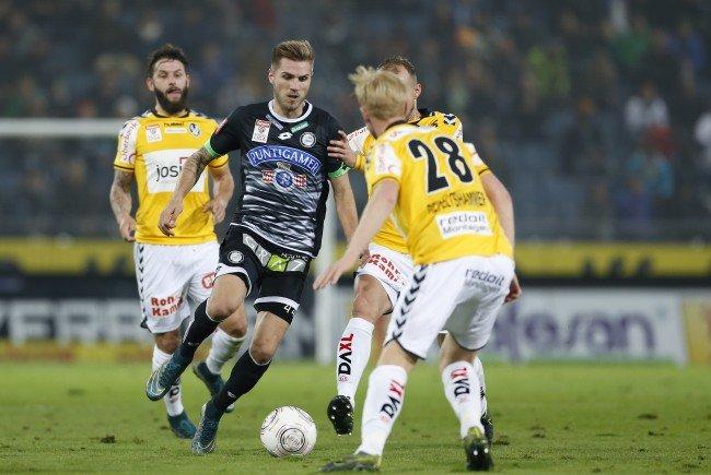 LIVE-Ticker zum Spiel SV Ried gegen SK Sturm Graz ab 16.00 Uhr.