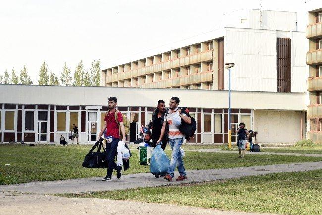 Die Slowakei betreut Flüchtlinge, die in Österreich Asylantrag stellten.