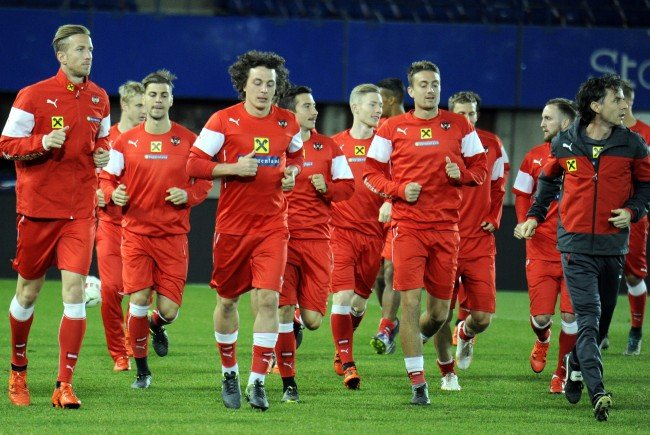 Das ÖFB-Team testet sein Können gegen Albanien in Wien.